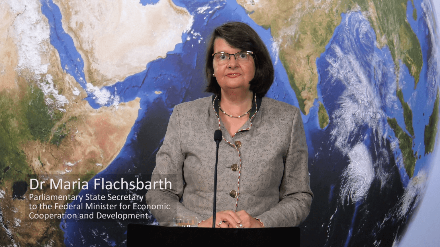 Dr. Maria Flachsbarth, Parliamentary State Secretary to the Federal Minister for Economic Cooperation and Development